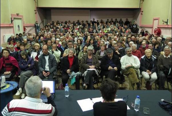 Deux-Sèvres Niort réunion anti-Linky au théâtre Jean-Richard